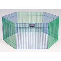 "Midwest Small Pet Playpen 6 panels 15"" x 19"" - 100-15"
