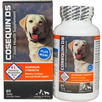 Nutramax Cosequin DS Plus MSM For Dogs, 60 Chewable Tablets