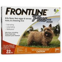Frontline Plus for Small Dogs (Under 22 lbs, 6 Months Supply)