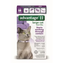 Advantage II for Large Cats (Over 9 lbs, 2 Month Supply)