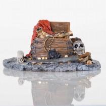 """BioBubble Decorative Pirate Treasure 7.5"""" x 6"""" x 3.75"""" - BIO-60121500"""