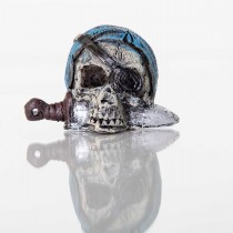 "BioBubble Decorative Pirate Skull 2"" x 2"" x 2"" - BIO-60133800"