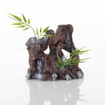"BioBubble Decorative The Old Stump 4.25"" x 3"" x 4.25"" - BIO-60134500"