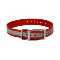"The Buzzard's Roost Reflective Collar Strap 1"" x 24"""