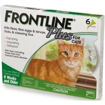 Frontline Plus for Cats 6 Months Supply
