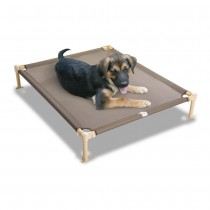 "Hugs Pet Products Dog Cool Cot Medium Tan 33"" x 25"" x 6"" - HUG-09302"