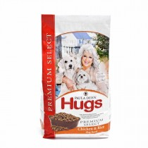 "Hugs Pet Products Paula Dean Premium Select Dog Food Chicken and Rice 4.5 lbs. 12"" x 8.25"" x 5"" - HUG-42009"