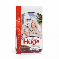 "Hugs Pet Products Paula Dean Premium Select Dog Food Beef and Rice 4.5 lbs. 12"" x 8.25"" x 5"" - HUG-42011"