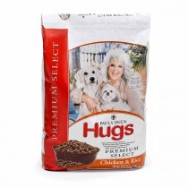 "Hugs Pet Products Paula Dean Premium Select Dog Food Chicken and Rice 12 lbs. 20.5"" x 14.25"" x 3"" - HUG-42012"