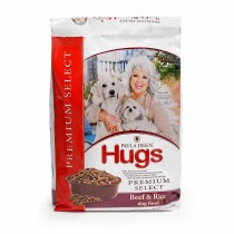 "Hugs Pet Products Paula Dean Premium Select Dog Food Beef and Rice 12 lbs. 20.5"" x 14.25"" x 3"" - HUG-42014"