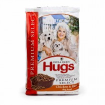 "Hugs Pet Products Paula Dean Premium Select Dog Food Chicken and Rice 22.5 lbs. 25.25"" x 16.25"" x 3.75"" - HUG-42015"