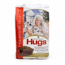 "Hugs Pet Products Paula Dean Premium Select Dog Food Lamb and Rice 22.5 lbs. 25.25"" x 16.25"" x 3.75"" - HUG-42016"