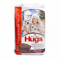 "Hugs Pet Products Paula Dean Premium Select Dog Food Beef and Rice 22.5 lbs. 25.25"" x 16.25"" x 3.75"" - HUG-42017"