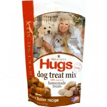 "Hugs Pet Products Paula Dean Treat Baking Mix Peanut Butter Wheat Free 8 oz. 9"" x 5.5"" x 2.5"" - HUG-42032"