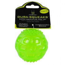 "Hyper Pet Dura Squeaks Ball Dog Toy Green 2.75"" x 2.75"" x 2.75"" - HYP49443EA"