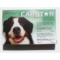 Capstar for Large Dogs Flea Tablets (57 mg, 6 Count)