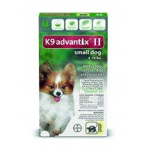K9 Advantix II Small Dogs (Under 4 - 10 lbs, 2 Month Supply)