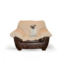 K&H Pet Products Leather Lover's Furniture Cover Chocolate