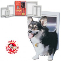 Ideal Original Pet Door Extra Large White - PPDXL