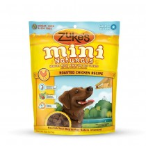 Zuke's Mini Naturals Moist Miniature Treat for Dogs Roasted Chicken 6oz. - Z-33051