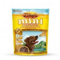 Zuke's Mini Naturals Moist Miniature Treat for Dogs Peanut Butter 6 oz. - Z-33052