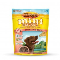 Zuke's Mini Naturals Moist Miniature Treat for Dogs Savory Salmon 6 oz. - Z-33054