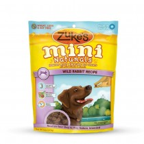 Zuke's Mini Naturals Moist Miniature Treat for Dogs Wild Rabbit 6 oz. - Z-33056