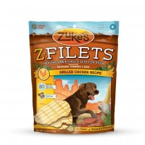 Zuke's Z-Filets Select Grain Free Dog Treat Grilled Chicken 3.25 oz. - Z-44051